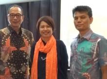 Suryo Suwignjo, moderator Dian Purnomo dan Fajaruddin Sihombing