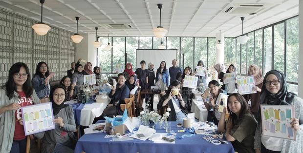 Foto : HP Homework Rescue Creative Workshop Didukung Oleh HP DeskJet Ink Advantage dan Komunitas Kreatif Do-it-Yourself (DIY), Living Loving
