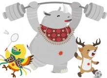 Mengenal Bhin Bhin, Kaka dan Atung, Maskot Asian Games 2018
