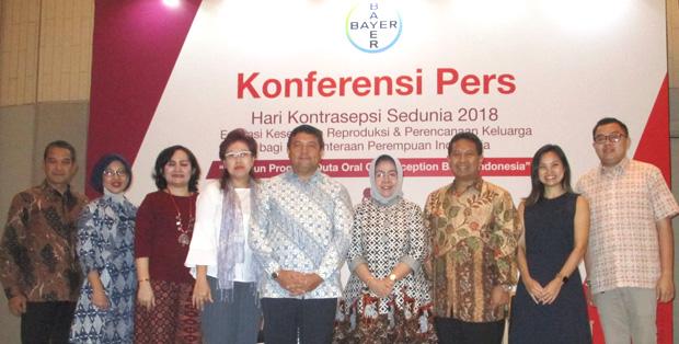 Peringatan Hari Kontrasepsi Sedunia di Jakarta Pusat