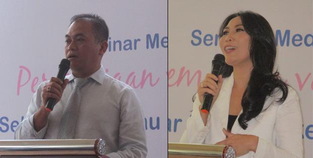 dr. Dasep Suwanda, SpOG dan dr. Ni Komang Yeni Dhanasari, SpOG