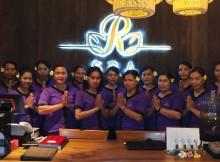 Para terapis R Spa Bali