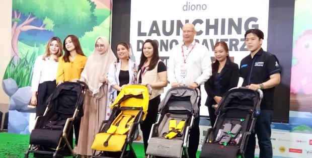 Foto : Launching Produk Diono Traverze