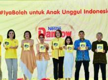 Foto : Penyerahan modul Iya Boleh untuk anak unggul Indonesia