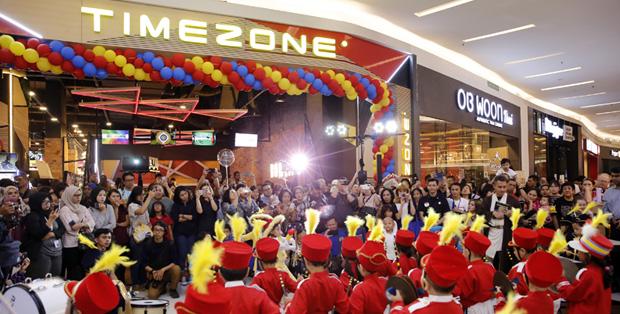 Foto : Kemeriahan Relaunch Timezone dan Grand Opening Play 'N' Learn di Lippo Mall Kemang, Jakarta