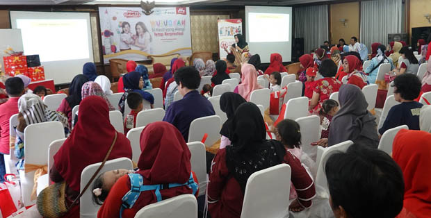 Salah satu hospital seminar Morinaga Allergy Week