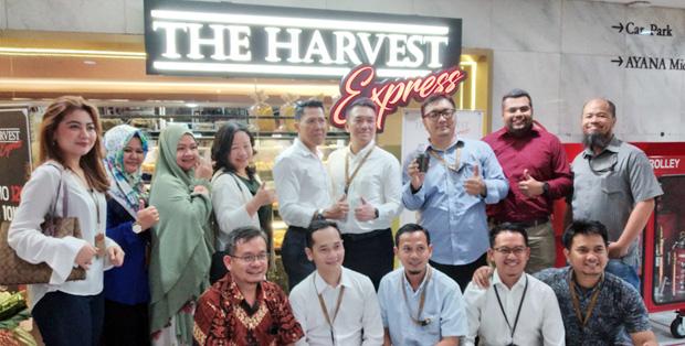 Foto : Pembukaan Gerai ke-11 The Harvest Express