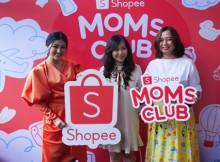Foto dalam acara Shopee Moms Club