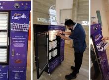 Foto Food Box Cadbury berbagi makanan di beberapa rumah sakit