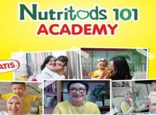Nestlé DANCOW Nutritods turut mempersembahkan Nutritods 101 Academy, program online special yang memiliki serangkaian acara seperti Kuliah WhatsApp, Xpert Talk, dan Webinar secara gratis.