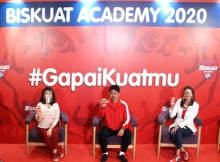 Virtual Press Conference Biskuat Academy 2020 #GapaiKuatmu yang kini hadir dalam format baru yaitu coaching clinic virtual bertajuk 'Sekolah Bola Online'