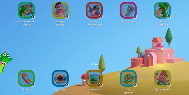 Aplikasi edukasi dan permainan Samsung Kids